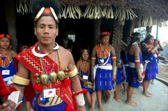 Hornbill Festival Of Nagaland-India. Royalty Free Stock Image