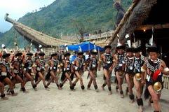 Hornbill-Festival von Nagaland-Indien. Stockbild