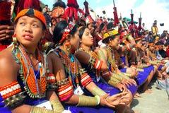 Hornbill-Festival von Nagaland-Indien. Lizenzfreies Stockbild