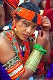 Hornbill-Festival von Nagaland-Indien. Lizenzfreies Stockfoto