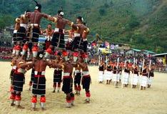 Hornbill-Festival von Nagaland-Indien. Stockbilder