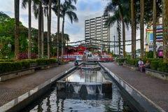 Hornbill Fountain in Kuching Stock Photos