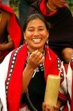 Hornbillfestival von Nagaland-Indien Stockfotos