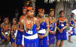 Hornbillfestival von Nagaland-Indien Lizenzfreies Stockfoto