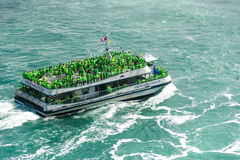 The Hornblower Cruise in Niagara Falls Royalty Free Stock Image
