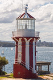 Hornby Lighthouse, South Head, Sydney Harbour, Australia Stock Photo