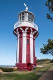 Hornbyvuurtoren, Zuidenhoofd, Sydney Harbour, Australië stock afbeelding