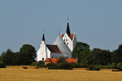 Horne church, Funen, Denmark Stock Photography
