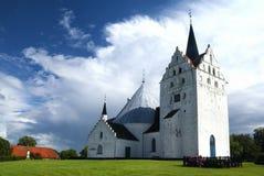 Horne-Kirche nahe Faaborg Lizenzfreies Stockbild