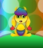 Horned Creature, illustration Stock Image