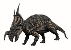 Horned Dinosaur. 3d Render of a Horned Dinosaur Stock Images