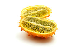 Horned melon Stock Photo