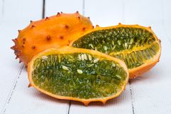 Free Horned Melon Fruit Royalty Free Stock Images - 105951559