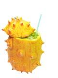 Horned melon fruit Stock Photo