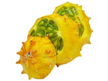 Horned melon fruit Royalty Free Stock Images