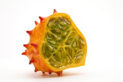 Horned Melon Half Royalty Free Stock Photos