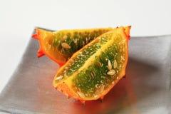 Horned melon Royalty Free Stock Photos