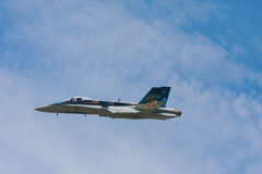 Hornet jet fighter Royalty Free Stock Photos