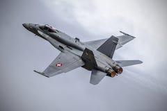 Hornet at NATO Days 2016 Stock Images