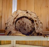Hornet nest from down royalty free stock images