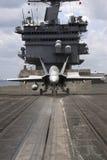 Hornet On Catapult Stock Image
