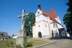 Horni Stropnice, Czech republic Stock Image