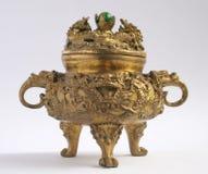 Hornilla de incienso asiática tradicional Foto de archivo