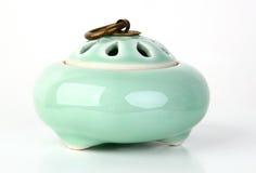 Hornilla de incienso de cerámica Foto de archivo libre de regalías