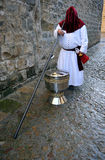 Hornilla de incienso grande, semana santa en Baeza, provincia de Jaén, Andalucía, España Fotografía de archivo
