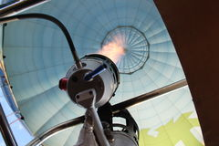 Hornilla del globo del aire caliente Imagenes de archivo