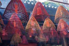 Hornillas de incienso espirales Imagenes de archivo
