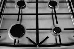 Hornillas de la cocina imagen de archivo libre de regalías