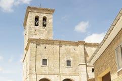 Hornillos del Camino church, Burgos, Santiago de compostela Stock Images