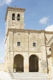 Hornillos del Camino church, Burgos, Santiago de compostela Royalty Free Stock Images