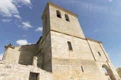 Hornillos del Camino church, Burgos, Santiago de compostela Royalty Free Stock Photography