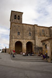 Hornillos del Camino church, Spain Stock Images