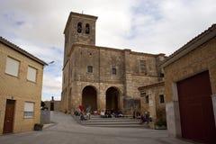 Hornillos del Camino church, Spain Royalty Free Stock Photography