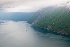Hornindalsvatnet Stock Images