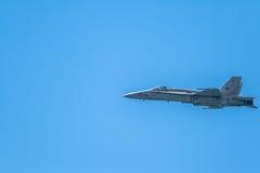Hornisse der Flugzeug-F-18 Stockbild