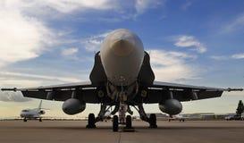 Hornisse F/A-18 Stockfotografie