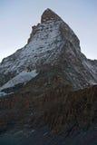 Hornli ridge - route to Matterhorn summit Royalty Free Stock Photo