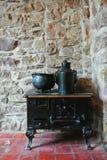 Horno antiguo de la cocina Fotografía de archivo libre de regalías