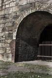 Horno de acero de piedra Fotografía de archivo libre de regalías