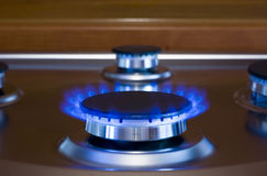 Horno de gas Foto de archivo