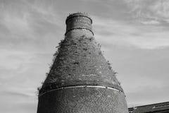Horno de la botella en el precio y Kensington, Longport imágenes de archivo libres de regalías
