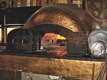 Horno de la pizza imagenes de archivo
