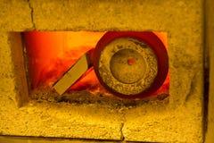 Horno de mufla Foto de archivo libre de regalías