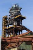 Horno en la ciudad de Ostrava imagen de archivo