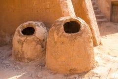 Horno-pan del tandoor de la arcilla Imagenes de archivo