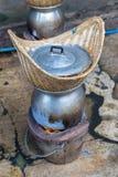 Horno para cocinar la comida Imagen de archivo